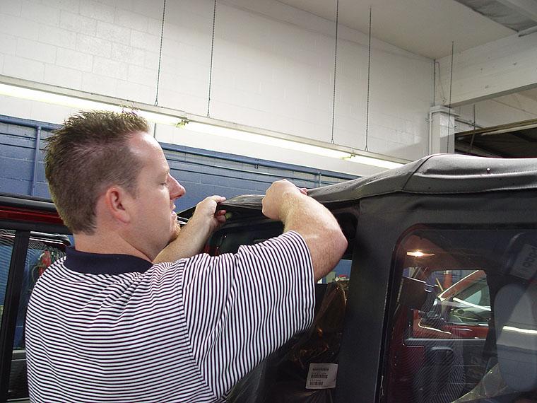 Jeep JK Wrangler Sunrider Soft Top